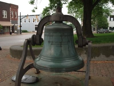 1880 - - Courthouse Bell ! ! ! Photo, Click for full size