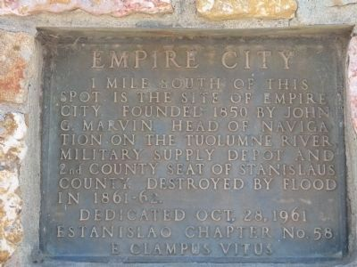 Empire City Marker Photo, Click for full size