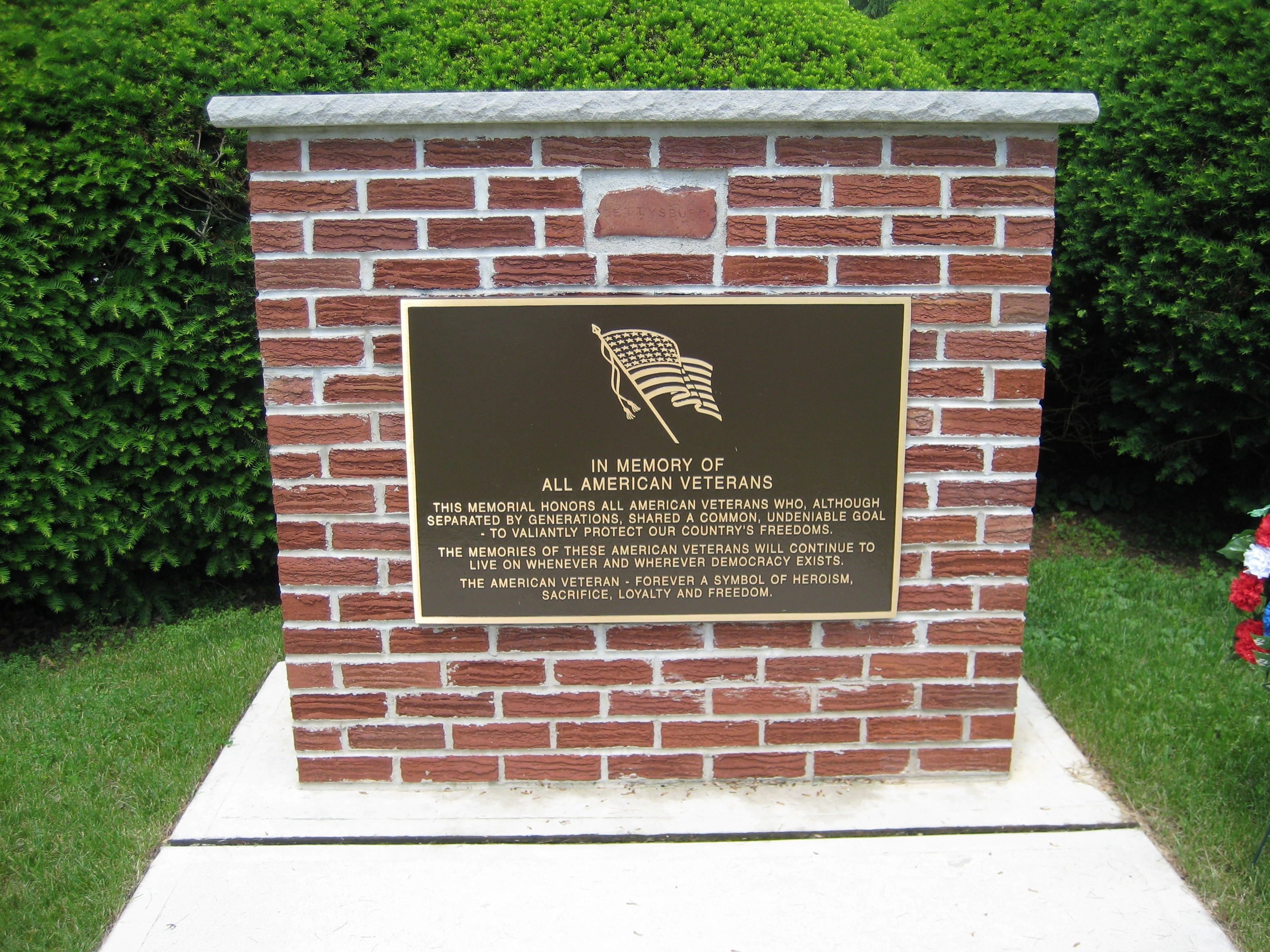 Greenwich Township Veterans Monument