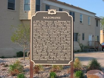 Mazomanie Marker image. Click for full size.