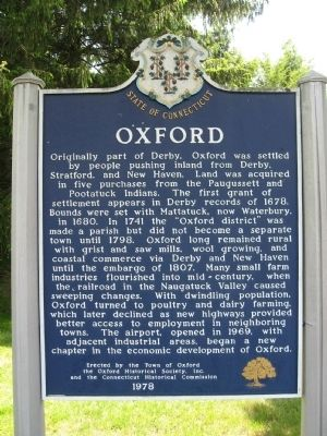 Oxford Marker image. Click for full size.