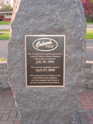 Culver's Marker image. Click for full size.