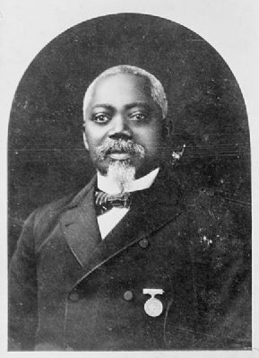 Sgt. William H. Carney of New Bedford, Mass., image. Click for full size.