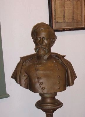 Bronze Bust of Lew Wallace image. Click for full size.