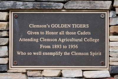 Golden Tigers Marker image. Click for full size.