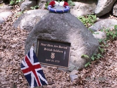 British Soldier Headstone image. Click for full size.