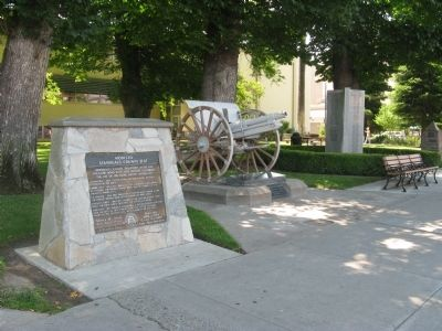 Modesto – Stanislaus County Seat Marker image. Click for full size.