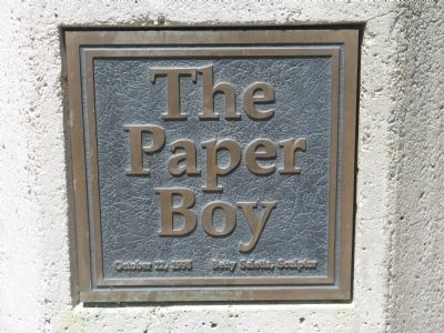 The Paper Boy Marker Photo, Click for full size