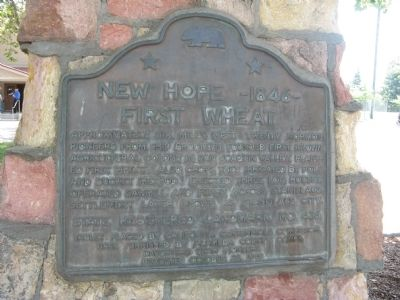 New Hope – 1846 Marker image. Click for full size.
