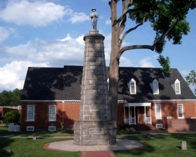 Chesterfield and Manchester Confederate Memorial image. Click for full size.
