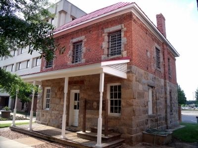 The Old Jail at Chesterfield Courthouse image. Click for full size.