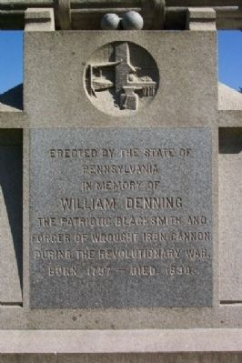 William Denning Marker image. Click for full size.