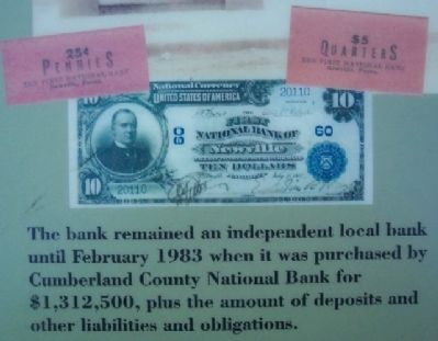The First National Bank of Newville image. Click for full size.