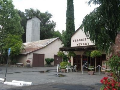 Frasinetti's Winery Buildings and Wine Tasting Room image. Click for full size.
