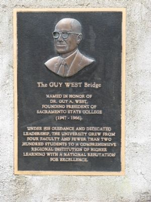 The Guy West Bridge Marker image. Click for full size.