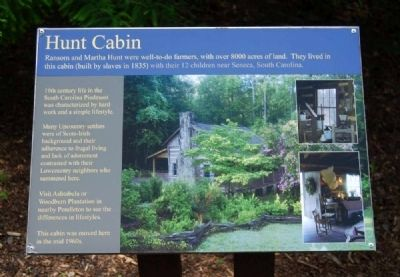 Hunt Cabin Marker image. Click for full size.