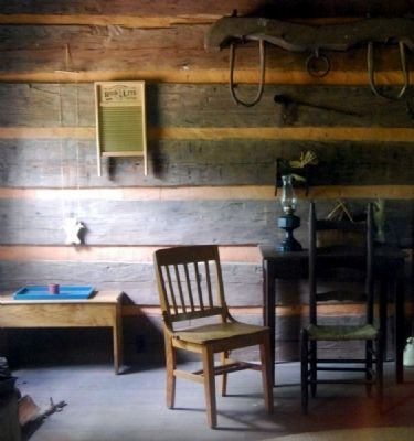 Hunt Cabin - Interior image. Click for full size.