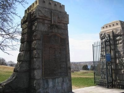Marker at Fort Griswold Photo, Click for full size