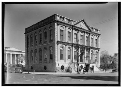 Charleston City Hall image. Click for full size.