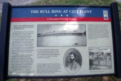 The Bull Ring at City Point CWT Marker Photo, Click for full size