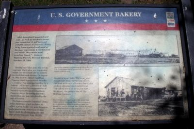 U.S. Government Bakery CWT Marker image. Click for full size.