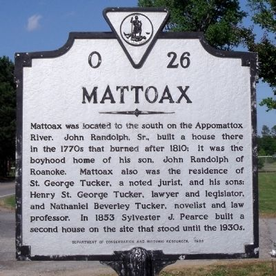 Mattoax Marker image. Click for full size.