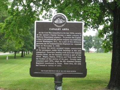 Cavalry Area Marker image. Click for full size.