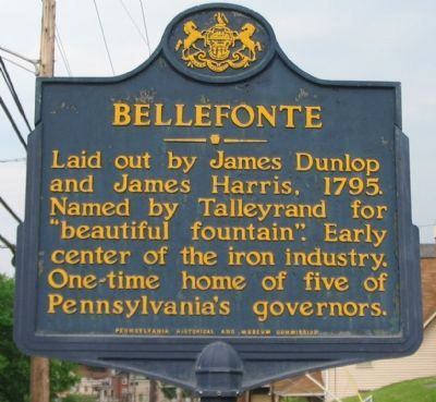 Bellefonte Marker Photo, Click for full size