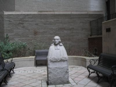 Bust of John Wesley image. Click for full size.