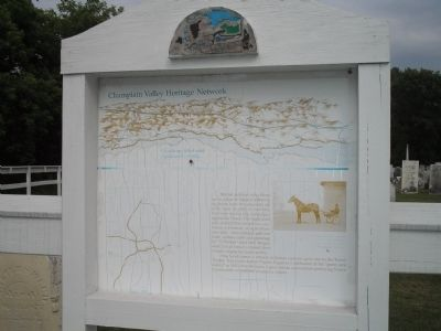 Champlain Valley Heritage Network Marker image. Click for full size.