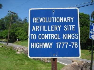 Revolutionary Artillery Site Marker image. Click for full size.