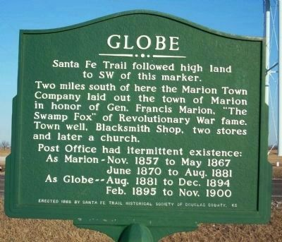 Globe Marker image. Click for full size.