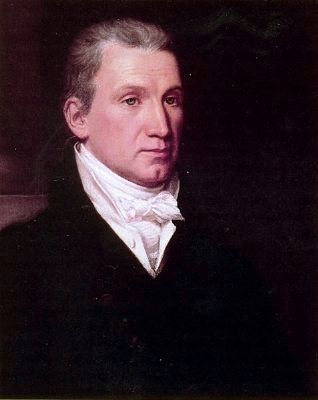 James Monroe<br>Fifth President of the United States image. Click for full size.
