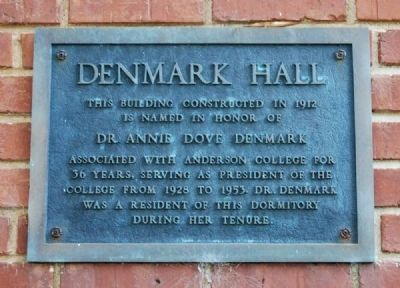 Denmark Hall Marker image. Click for full size.
