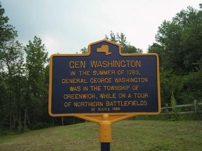 Gen. Washington Marker Photo, Click for full size