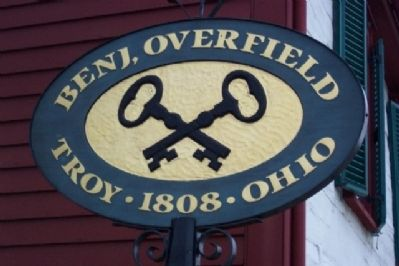 Overfield Tavern Sign image. Click for full size.
