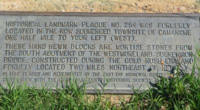 Camanche - Lower Marker Photo, Click for full size