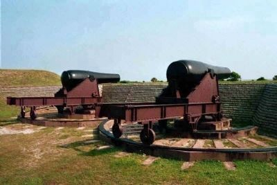 Fort Moultrie Cannon Photo, Click for full size