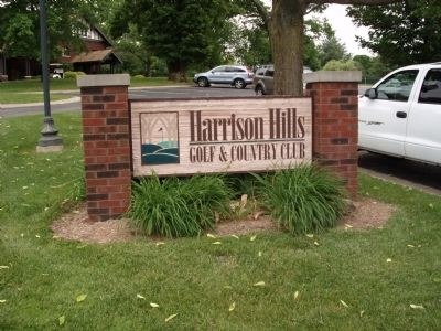 Sign - - Harrison Hills Country Club image. Click for full size.