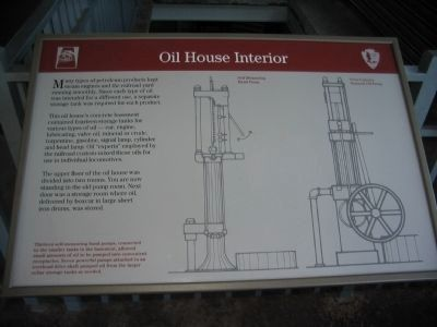 Oil House Interior image. Click for full size.