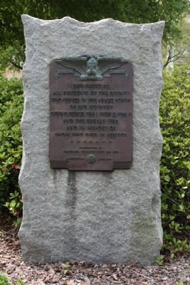 American Legion Armed Forces Tribute Marker image. Click for full size.