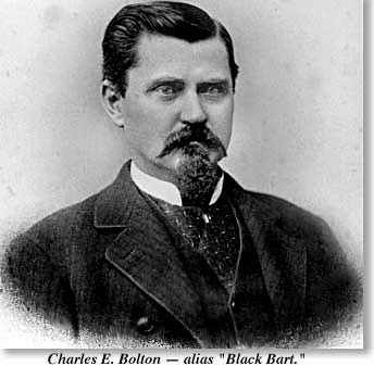 Charles E. Boles aka Charles E. Bolton <i>alias</i> Black Bart Photo, Click for full size