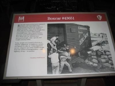 Boxcar #43651 image. Click for full size.