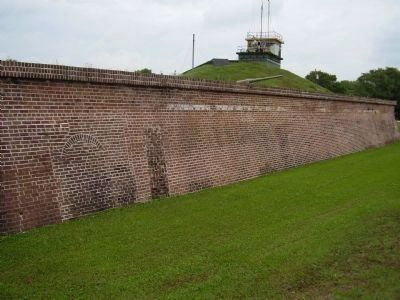 Section of the Fort Wall Photo, Click for full size