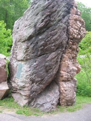 Van Hise Rock image. Click for full size.