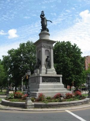 Waterbury Soldiers' Monument image. Click for full size.