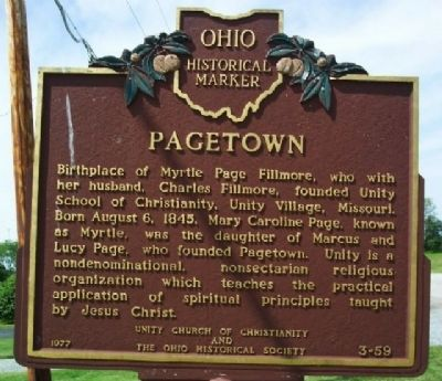 Pagetown Marker image. Click for full size.