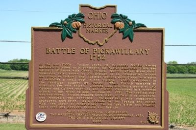 Battle of Pickawillany Marker image. Click for full size.