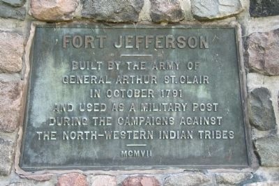 Fort Jefferson Marker image. Click for full size.