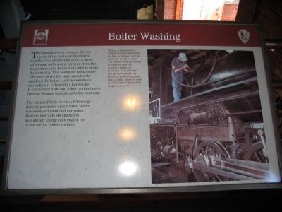 Boiler Washing image. Click for full size.